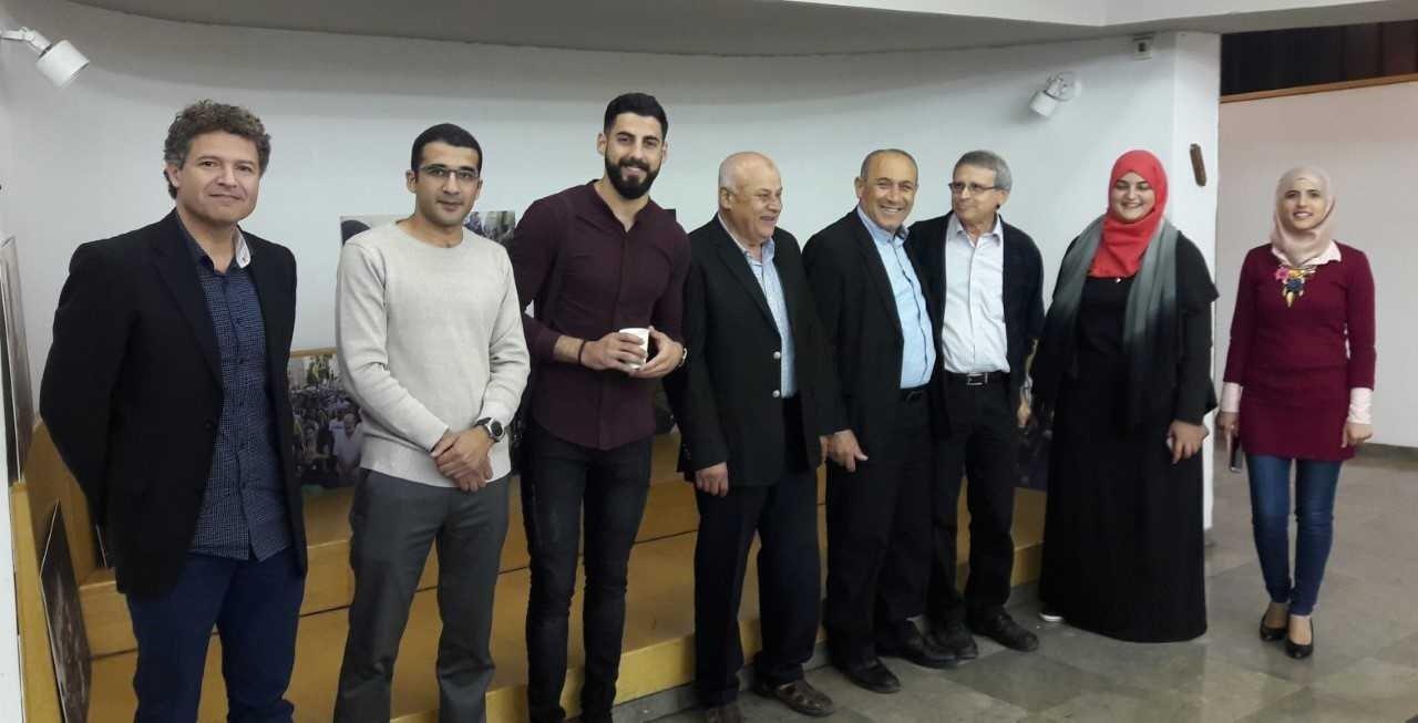 افتتاح مشروع תג מאיר في القدس لمناهضة العنصرية بحضور وحدة المشركة المجتمعية-0