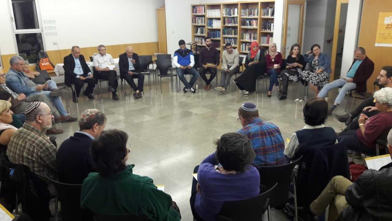 افتتاح مشروع תג מאיר في القدس لمناهضة العنصرية بحضور وحدة المشركة المجتمعية-2