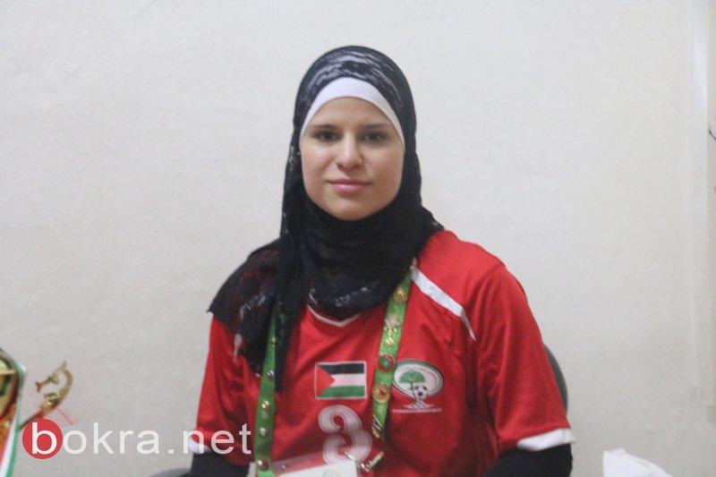 سجى ابراهيم .. من عرابة إلى منتخب فلسطين لكرة القدم