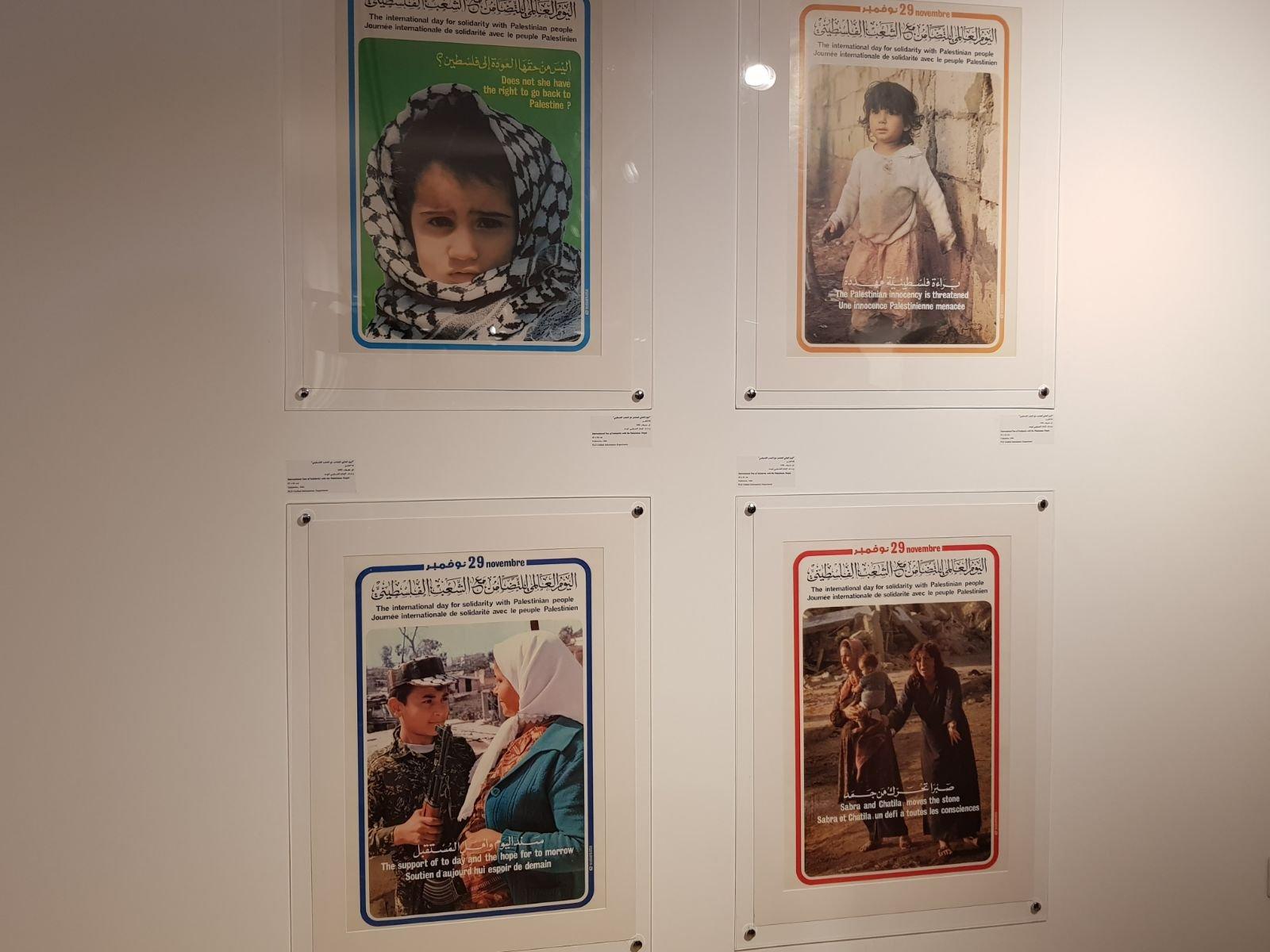 معرض يصور الأفكار والمفاهيم المتعلقة بالثورة الفلسطينية في عقدي السبعينات والثمانيات-0
