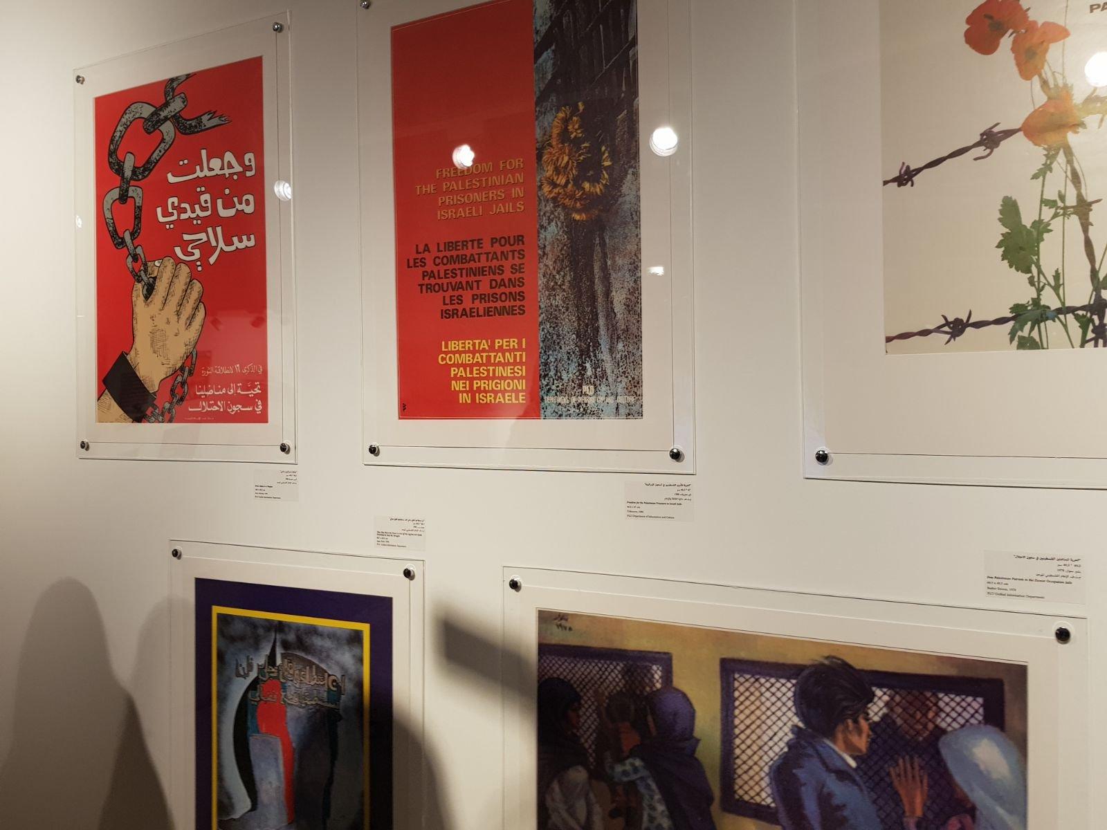 معرض يصور الأفكار والمفاهيم المتعلقة بالثورة الفلسطينية في عقدي السبعينات والثمانيات-6
