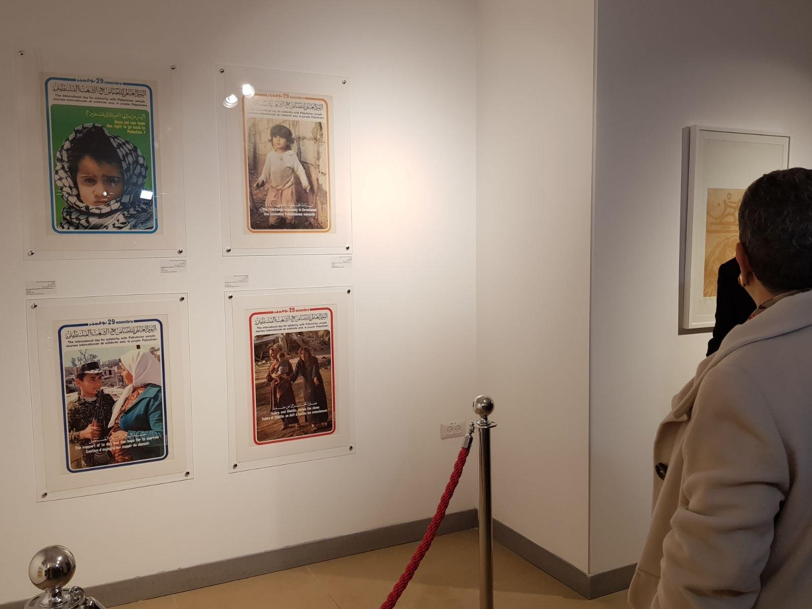 معرض يصور الأفكار والمفاهيم المتعلقة بالثورة الفلسطينية في عقدي السبعينات والثمانيات-7