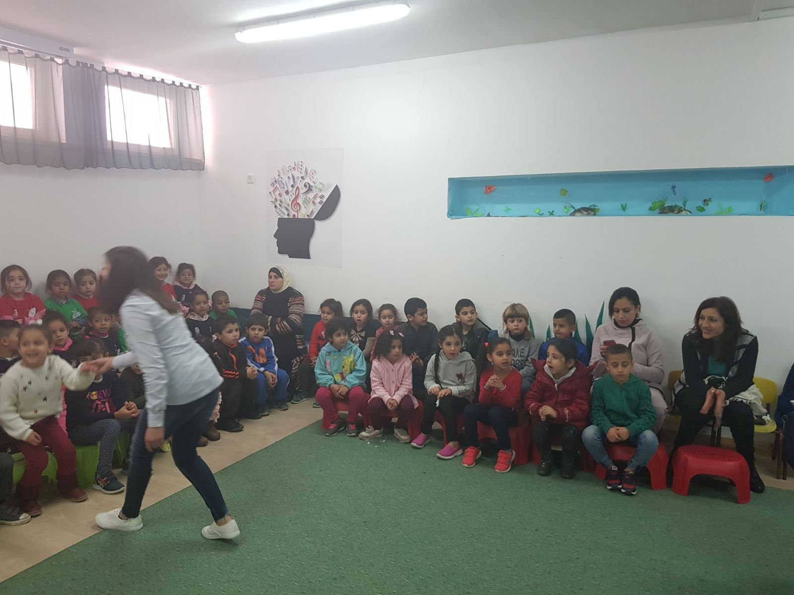 مركز الاثراء ينظم الكونسيرت الاول لأطفال البساتين في عكا