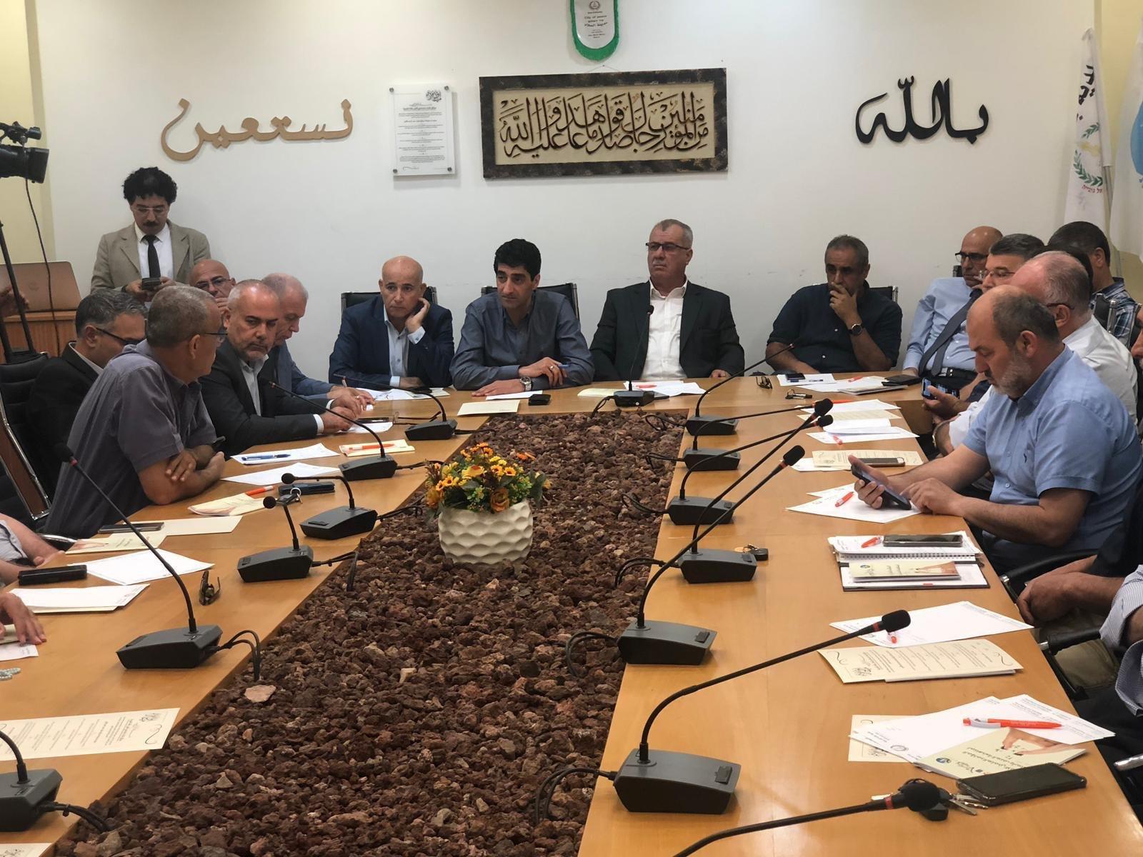 باقة الغربيّة: انعقاد جلسة طارئة في البلديّة لبحث العنف