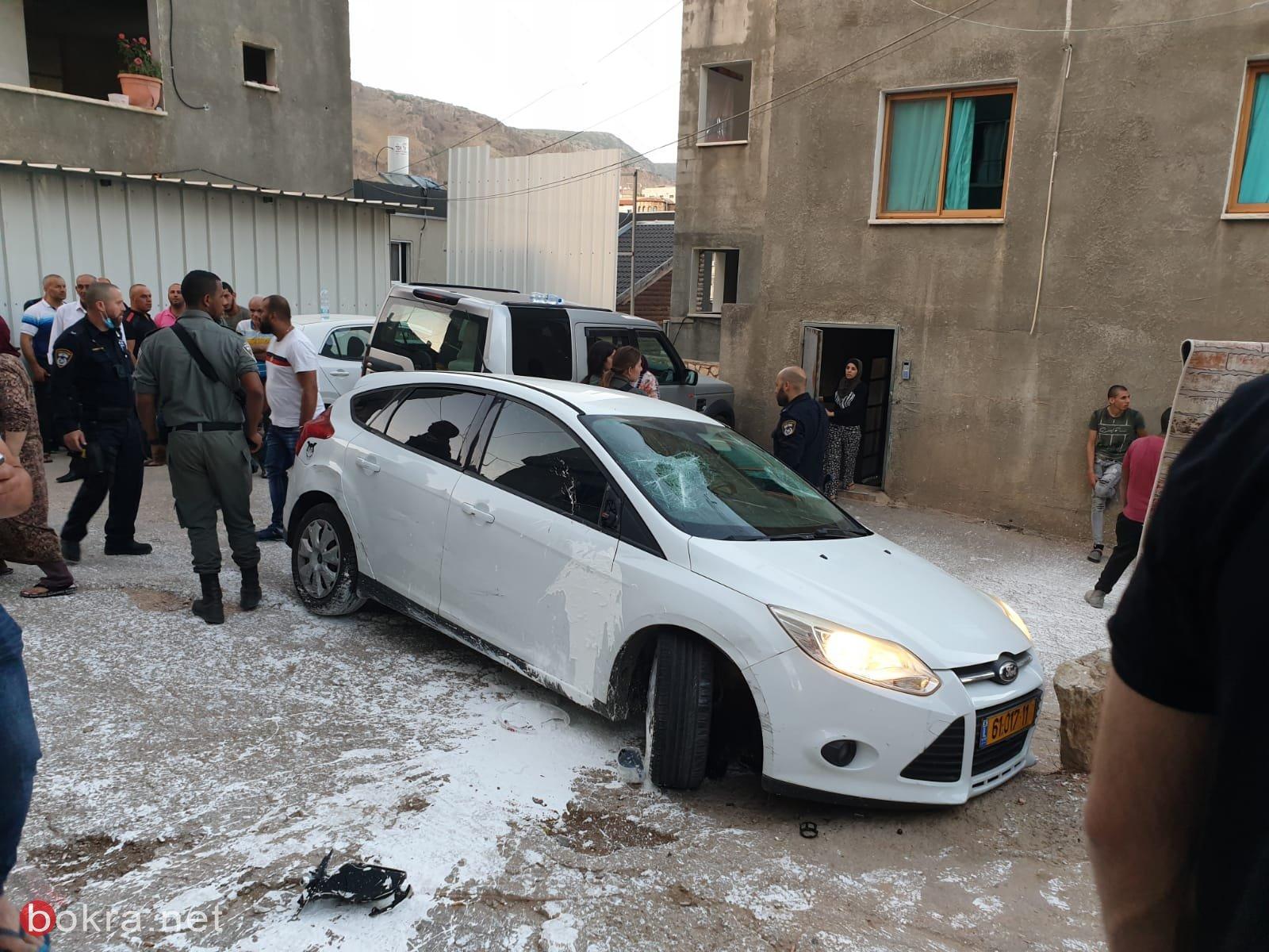 البعنة: إصابة اثر تعرض لاطلاق نار وأخرى جراء سقوط من علو