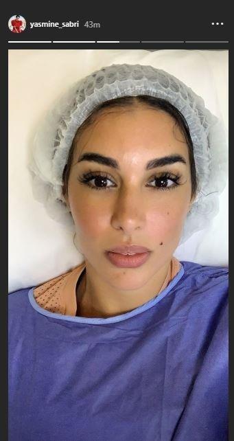 فنانة مصرية تنشر صورة لها في المستشفى.. من هي؟