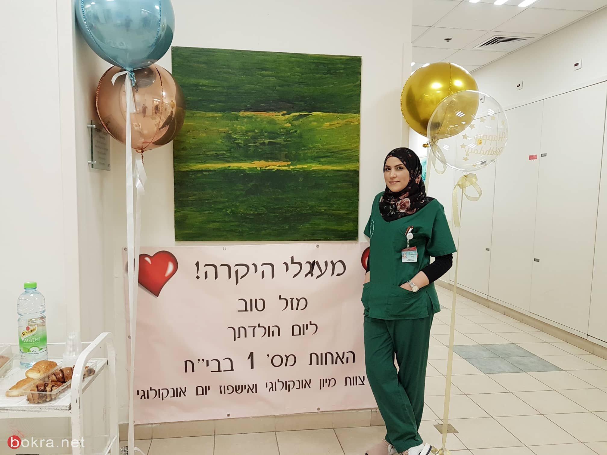معالي اغباريّة... ممرضة (28 عاماً) تتحدّث عن التطوّع والعطاء
