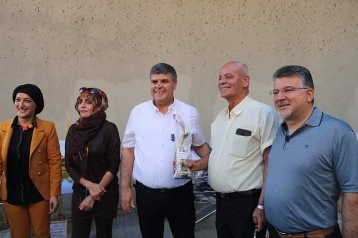 ام الفحم: معرض فنّي ضد العنف بمشاركة رئيس البلديّة والنائب جبارين