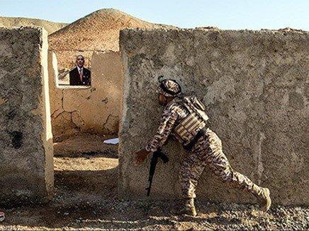 فاتحون يتدربون بإطلاق النار على نتنياهو وترامب
