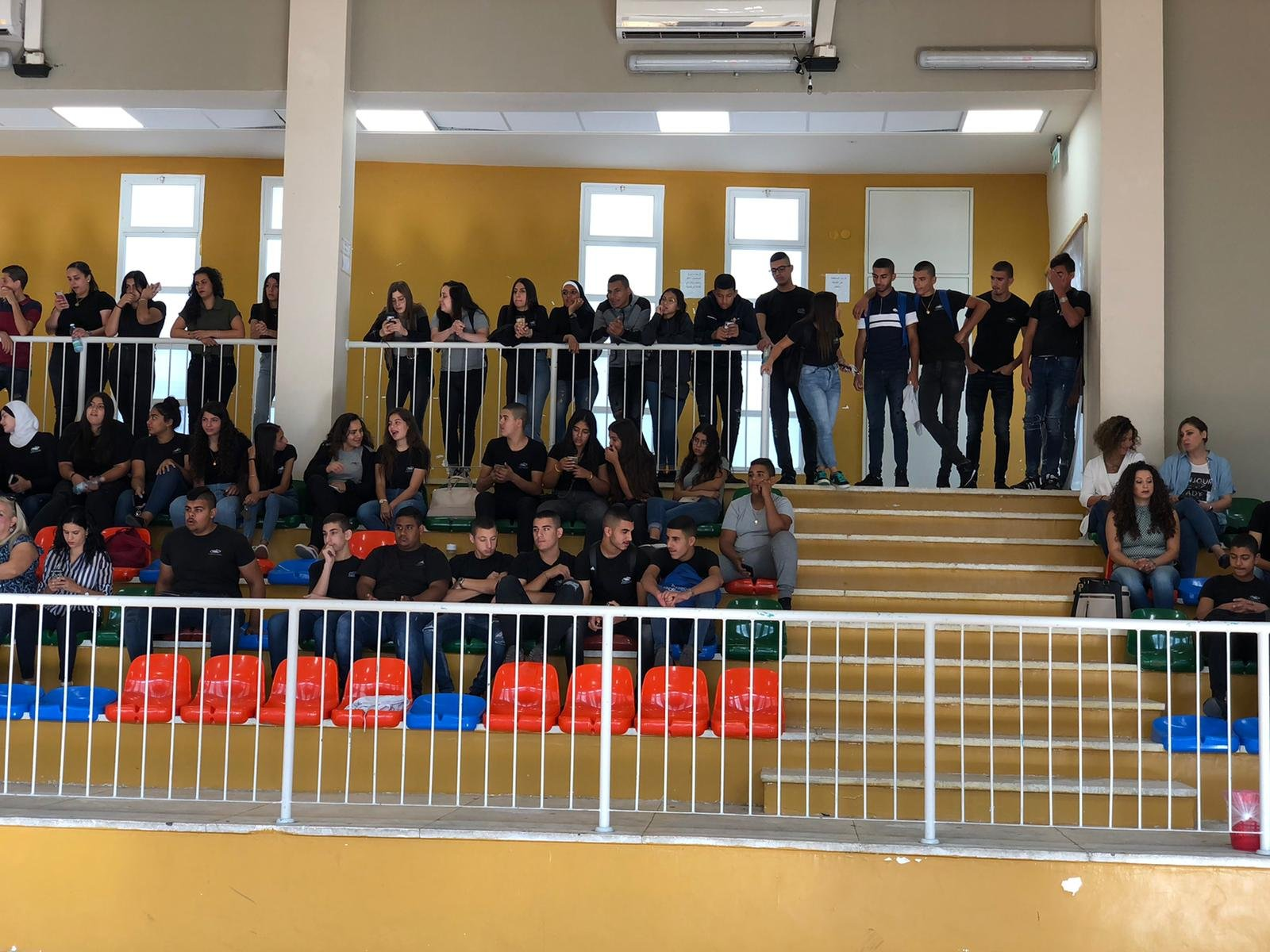 المناخ التربوي السليم بالمدرسة في حلمي الشافعي-عكا