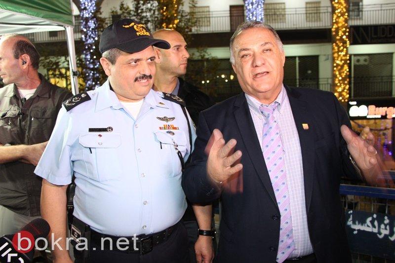 علي سلام وروني الشيخ يطّلعان على فعاليات الكريسماس ماركت-7
