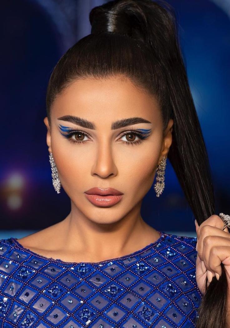 مكياج سهرة مميز وعصري من مهيرة عبد العزيز