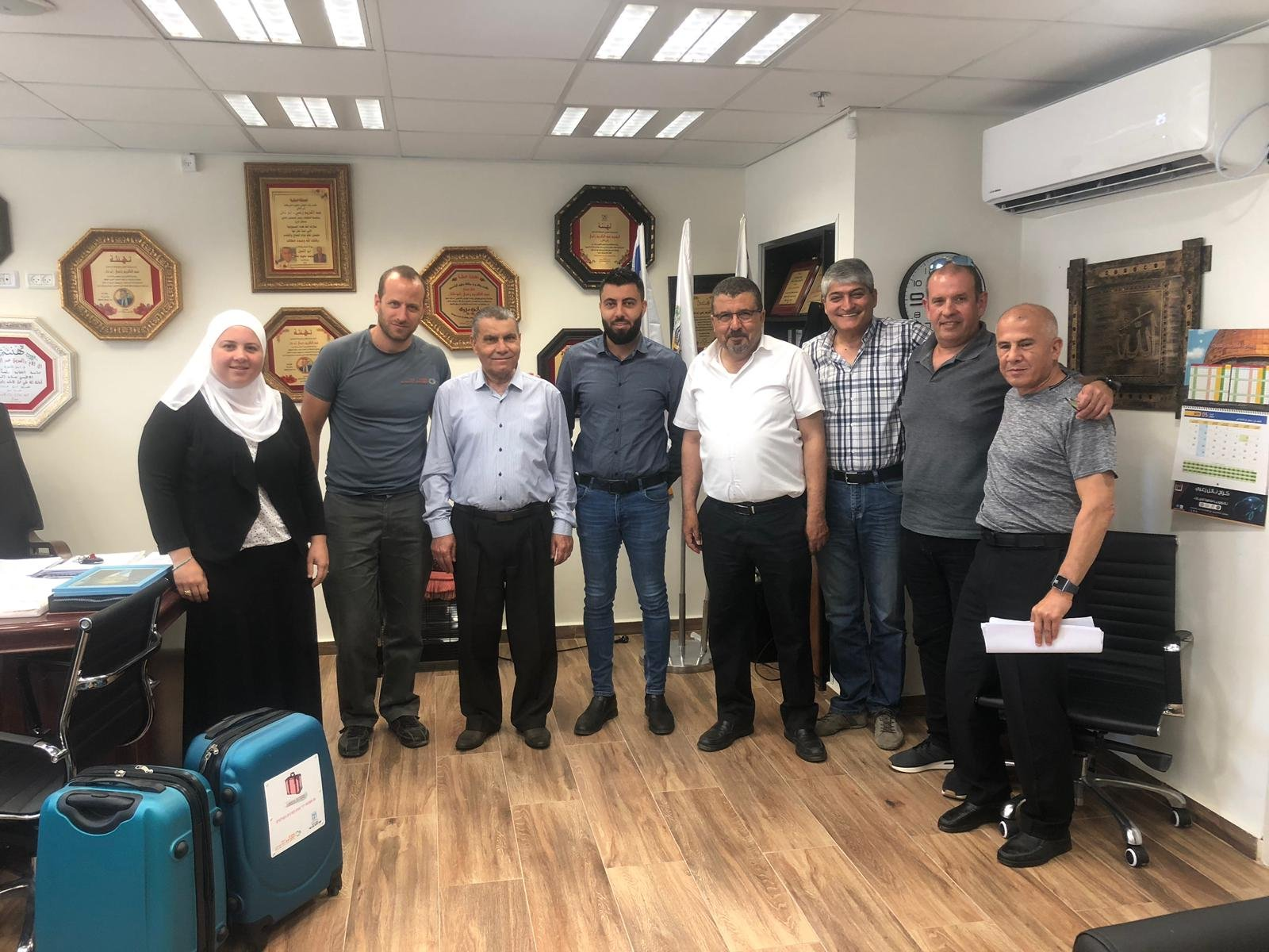 بستان المرج :مدير عام شركة المراكز الجماهيرية يحل ضيفًا على المجلس لتعزيز الشراكة