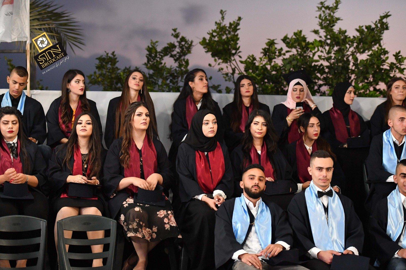 مدرسة طرعان الثانوية تخرج الفوج الـ 46  بحضور غفير
