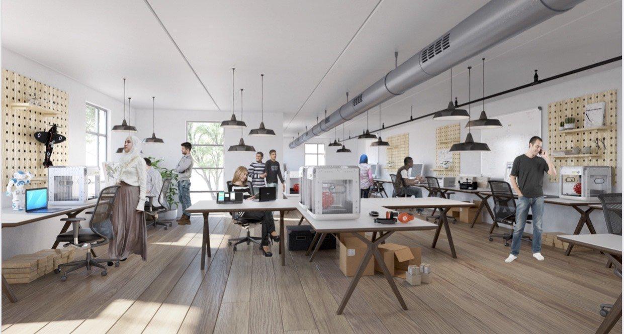 حاسوب تطلق حملة تمويل لتجنيد ميزانية لإنشاء مركز  للابتكار والحداثة