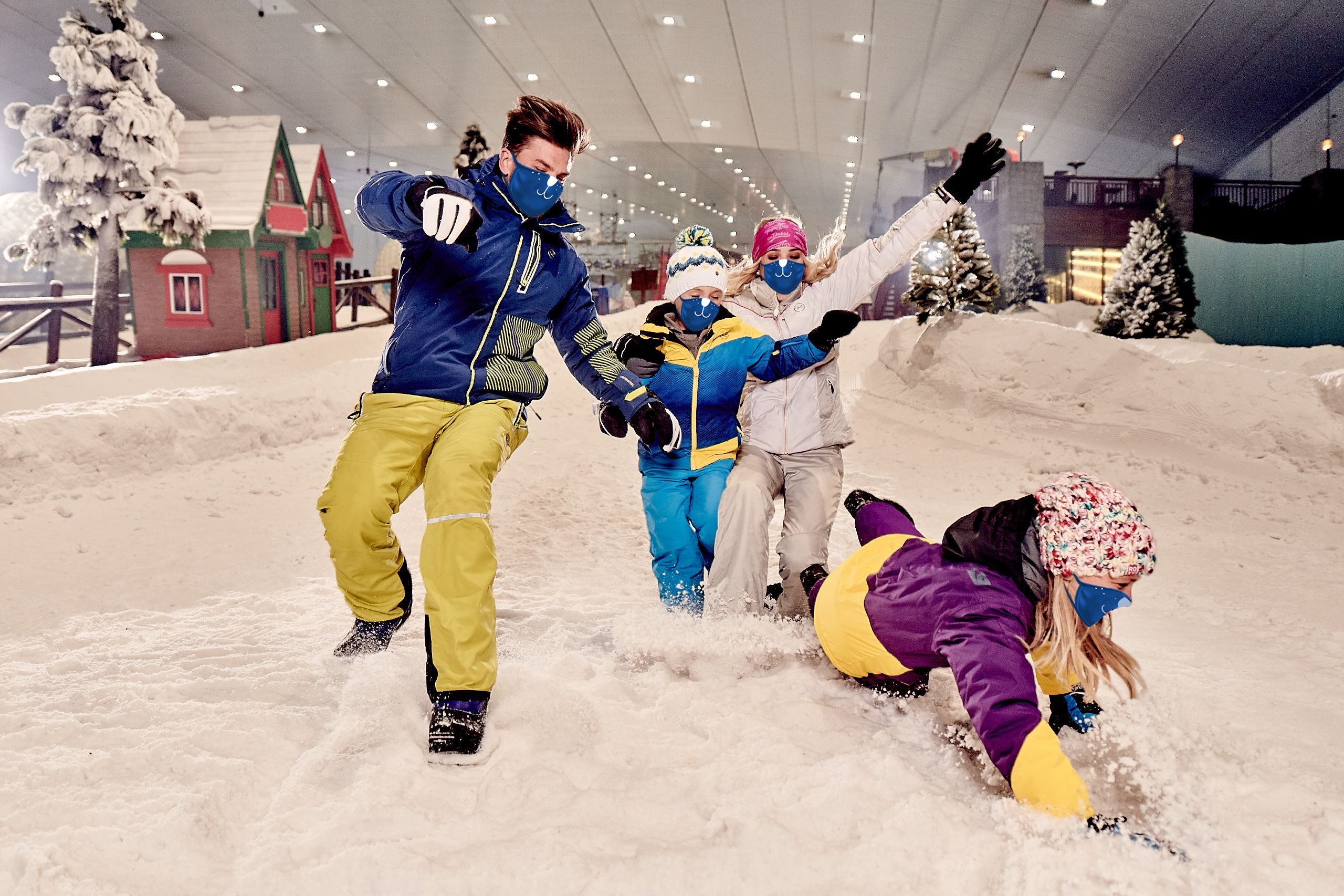 """""""مدينة الثلج"""" في دبي 743505843"""