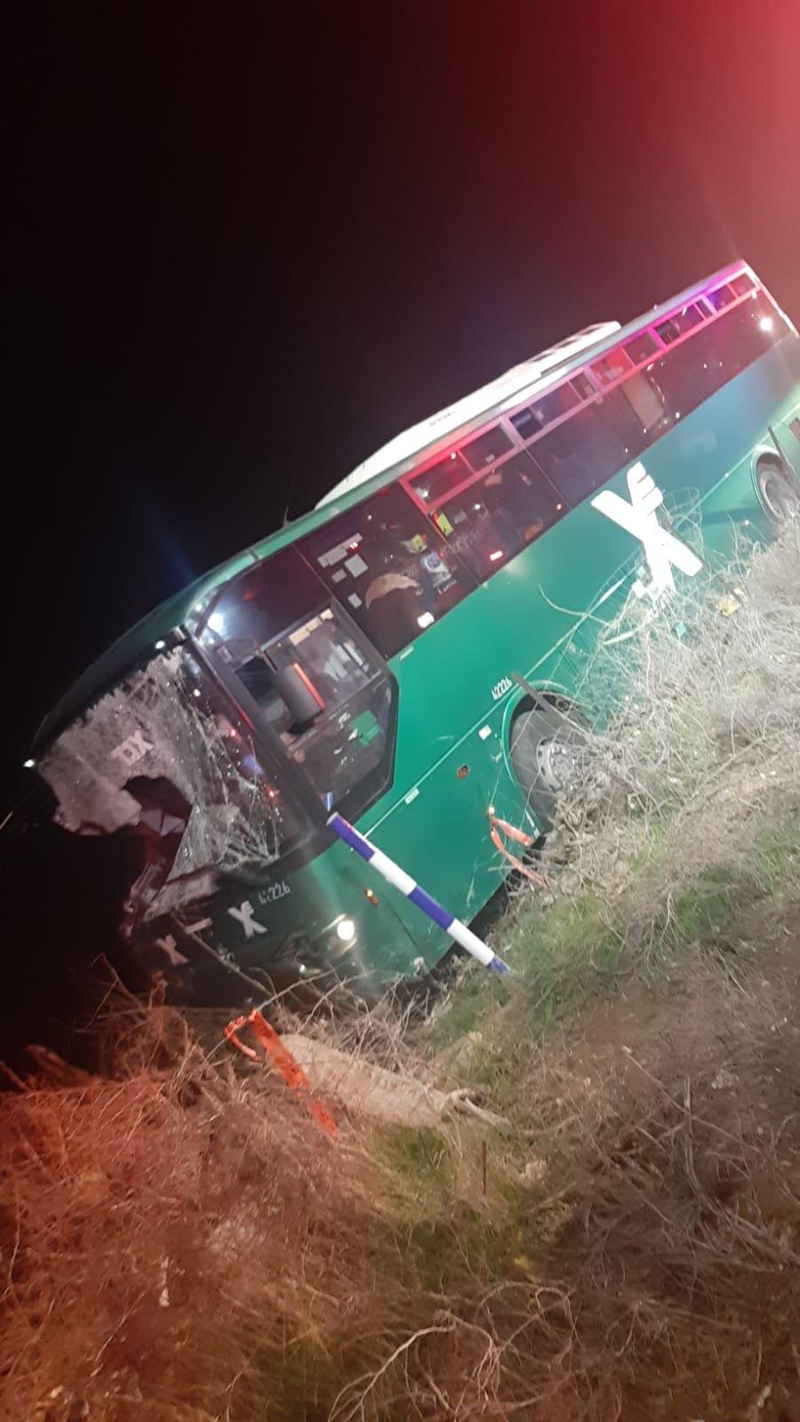 حافلة عمومية تصطدم بمحطة انزال ركاب: 4 قتلى و9 اصابات