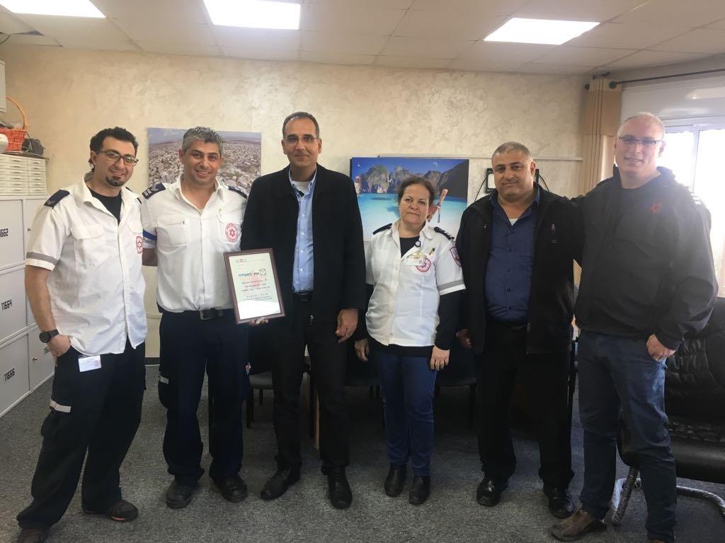 حملة تبرع بالدم في الثانوية الشاملة الف شفاعمرو