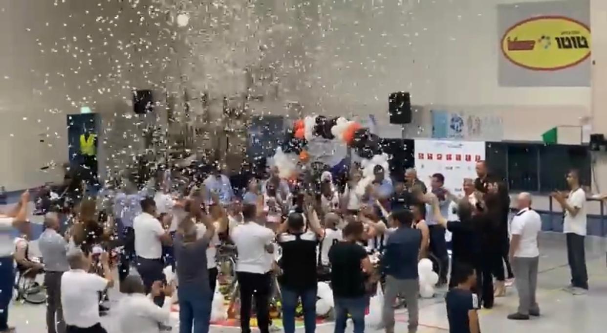 فخر كبير .. فريق مجد الكروم لكرة السلة لذوي التحديات يحصد كأس الدولة-1