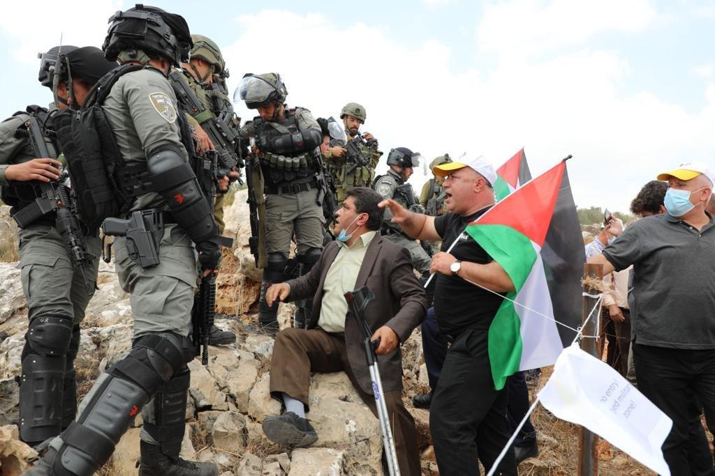 إصابة 146 فلسطينيا خلال مواجهات مع الاحتلال في بيتا-0