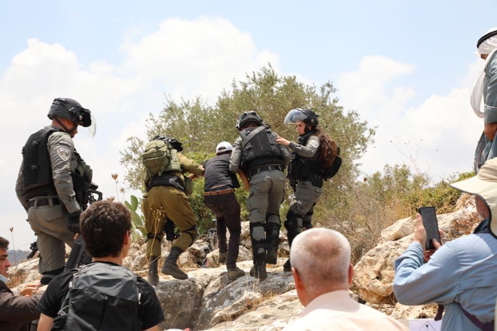 إصابة 146 فلسطينيا خلال مواجهات مع الاحتلال في بيتا-3