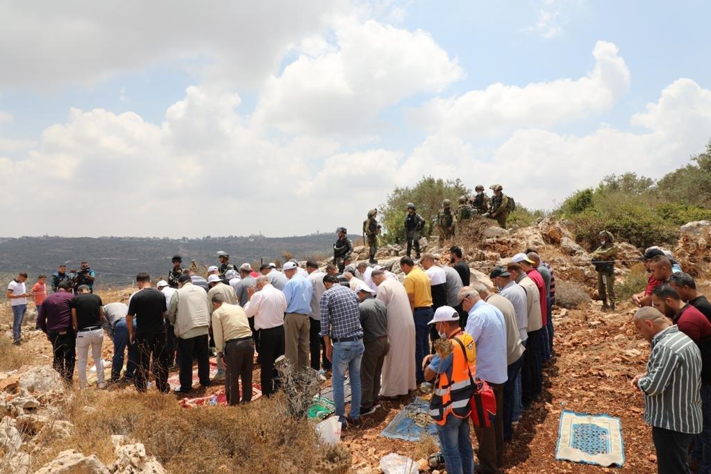 إصابة 146 فلسطينيا خلال مواجهات مع الاحتلال في بيتا-7