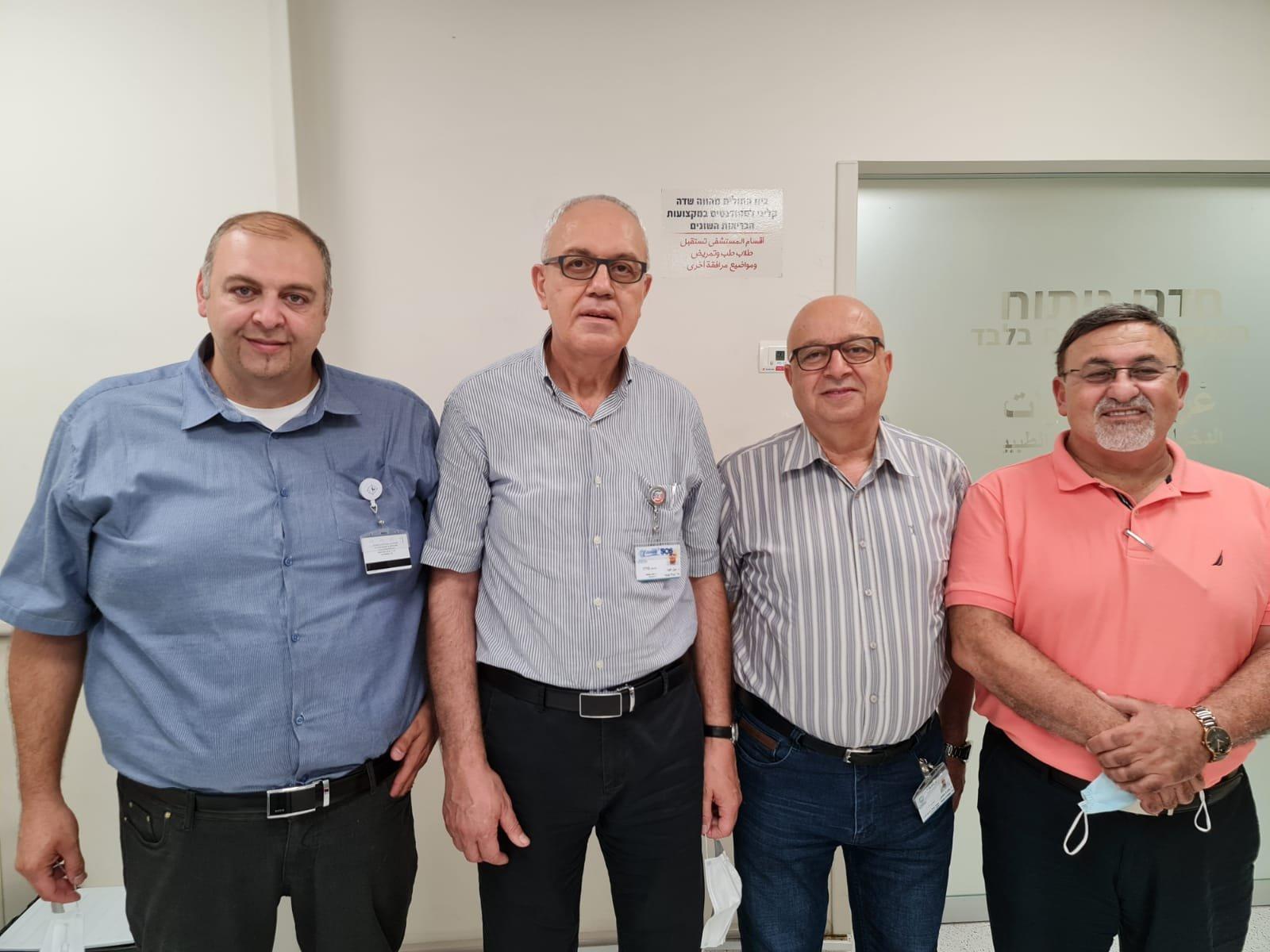 مستشفى الناصرة الانجليزي يستقطب خيرة أطباء المجتمع العربي د. وسام حسيب عبود يبدأ عمله في المستشفى كمدير لقسم الجراحة