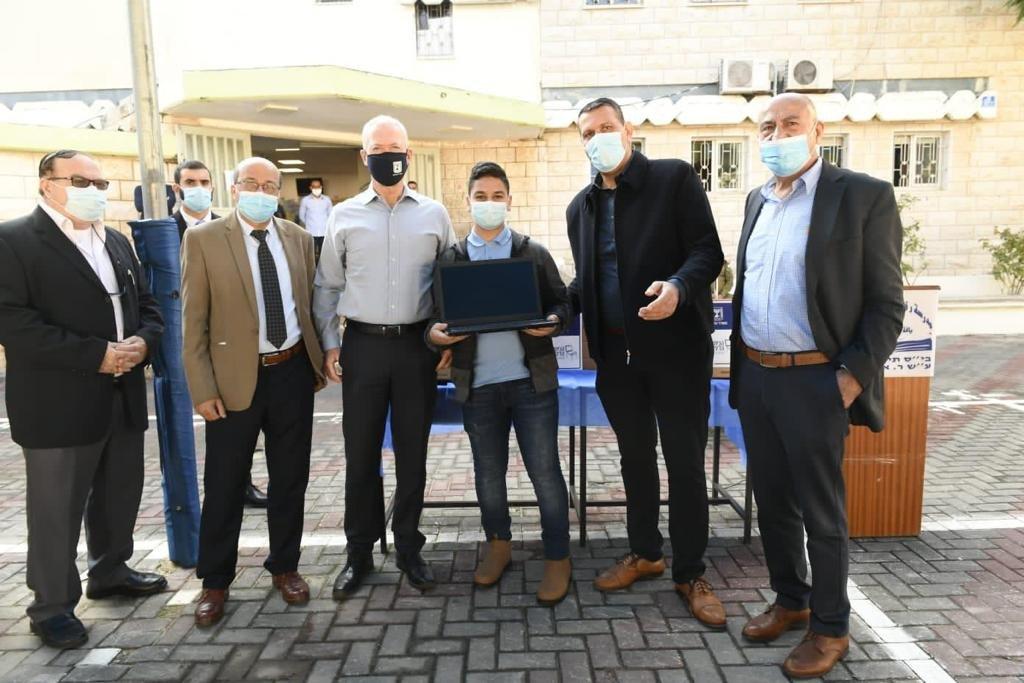وزير التعليم في يافة الناصرة: سنوزع 150 ألف حاسوب على الطلاب في كل البلاد-2