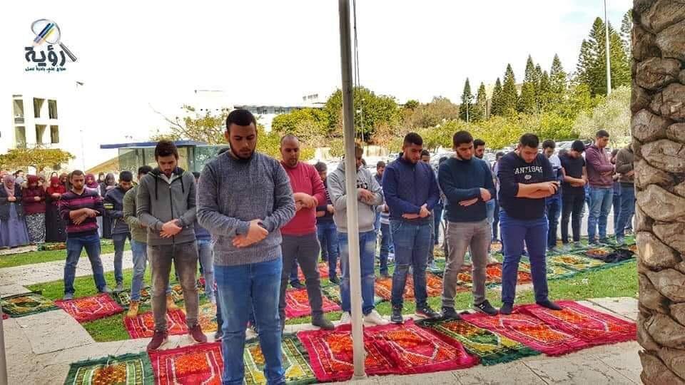 جامعة تلّ أبيب: مواصلة الإحتجاج على اغلاق المصلّى