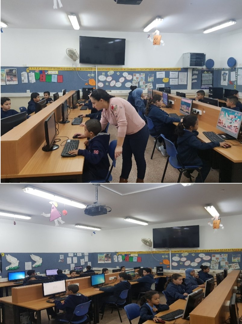 تأهل مدرسة البرج الابتدائية الى المرحلة النهائية في مسابقة السّايبر الإسرائيلية