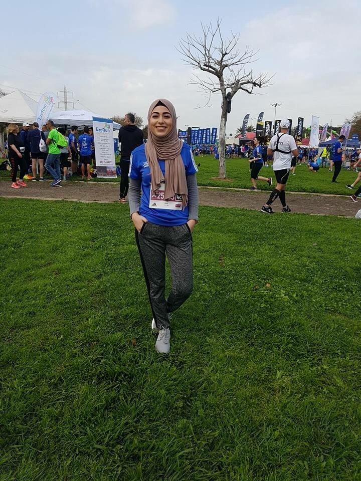 الفحماوية شمس شريدي بعد مشاركتها بماراثون تل أبيب: أشجع كل الفتيات للممارسة الرياضة