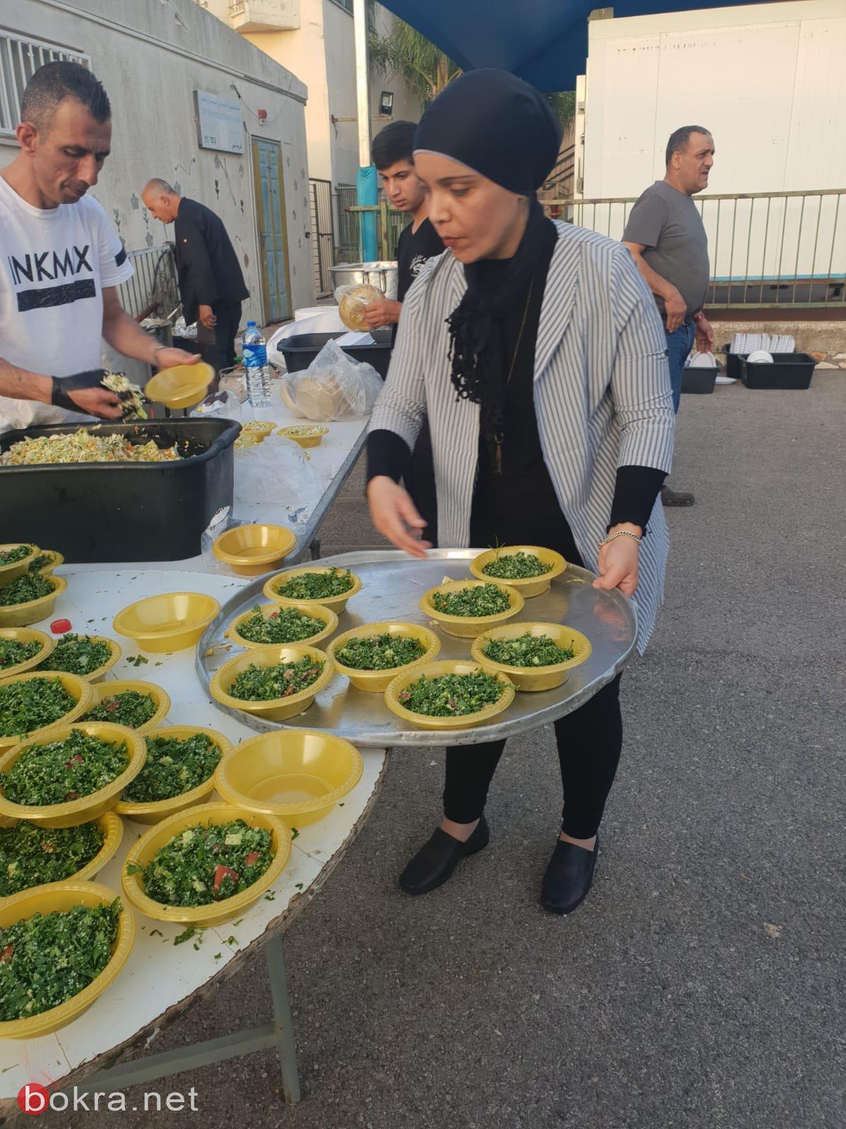 افطار جماعي وامسية رمضانية مهيبة في رحاب المدرسة الابتدائية نين