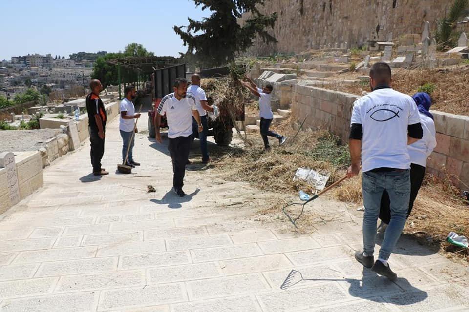 التجمع الوطني المسيحي يطلق حملة حماية مقبرة الرحمة الاسلامية