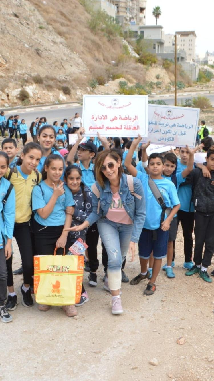 المدرسة الجماهيرية بير الأمير -الناصرة تعزز الرياضة والصحة
