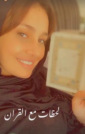 بعد أنباء ارتباطها بداعية اسلامي.. الفنانة الشهيرة مجدداً بالحجاب؟