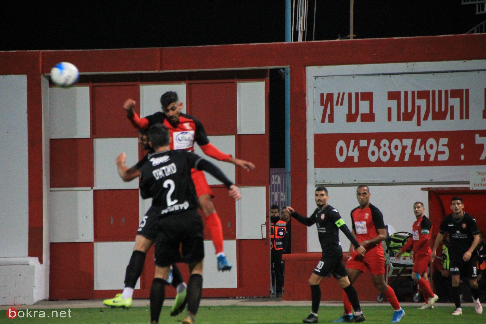 ديربي العرب بين ام الفحم وسخنين ينتهي بالتعادل (1-1)
