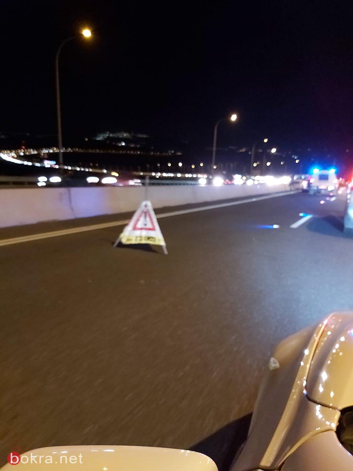 اصابات عديدة في حادث طرق بالقرب من البعينة النجيدات-1