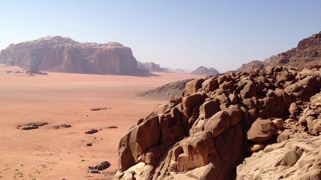 رحلة إلى المنطقة الجنوبية في الأردن