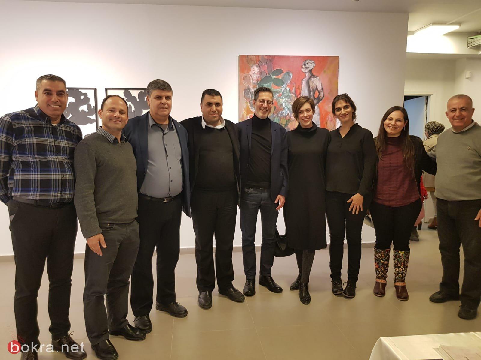 افتتاح مركز التمييز الفني رسميًا بشراكة بين اكاديمية بتسلئيل للفنون والتصميم وصندوق روتشيلك وصالة العرض أم الفحم