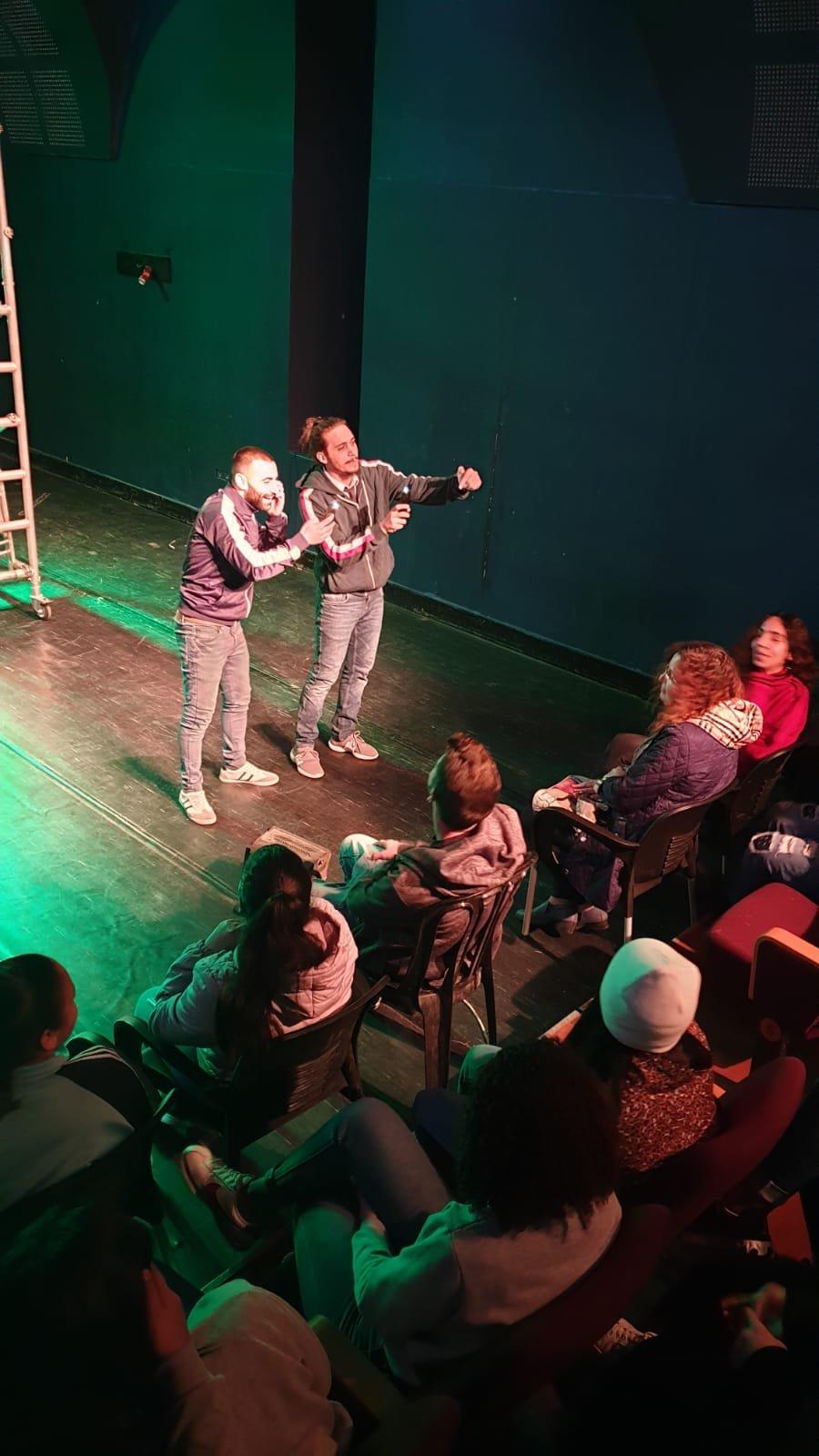 عرض رائع لمسرحية ( بنانير) في مدرسة أورط على أسم حلمي الشافعي عكا