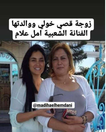 انتشار صورة جديدة لزوجة قصي خولي مع والدتها الفنانة