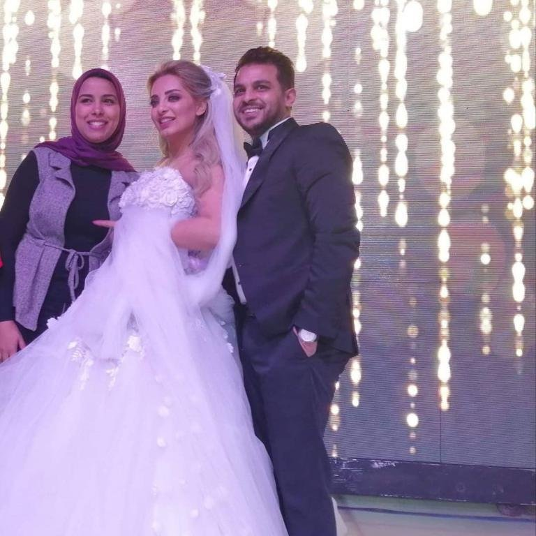 زفاف محمد رشاد ومي حلمي .. ورسالة مؤثرة من العروس