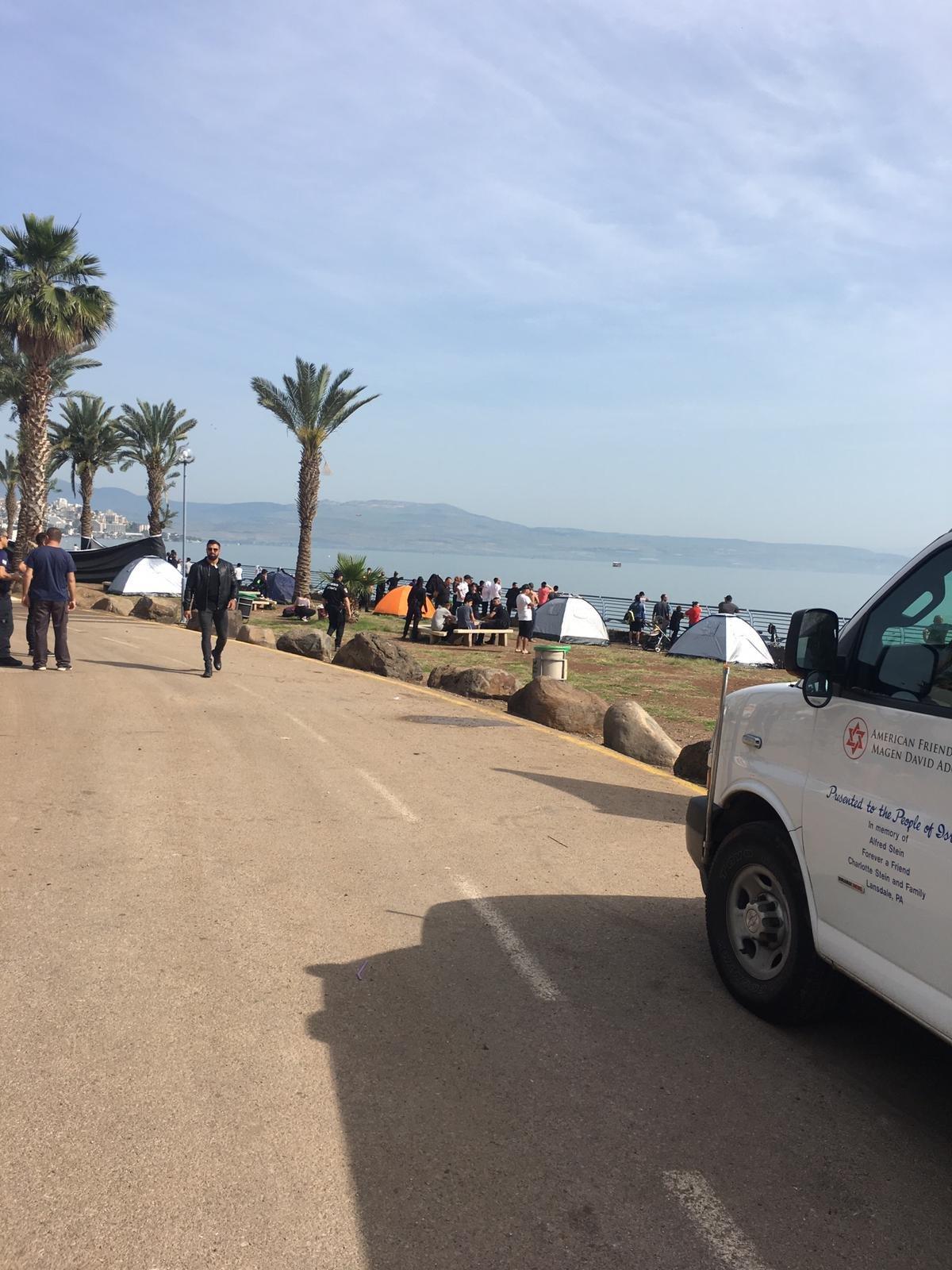 العثور على جثة الشاب الغريق في طبريا