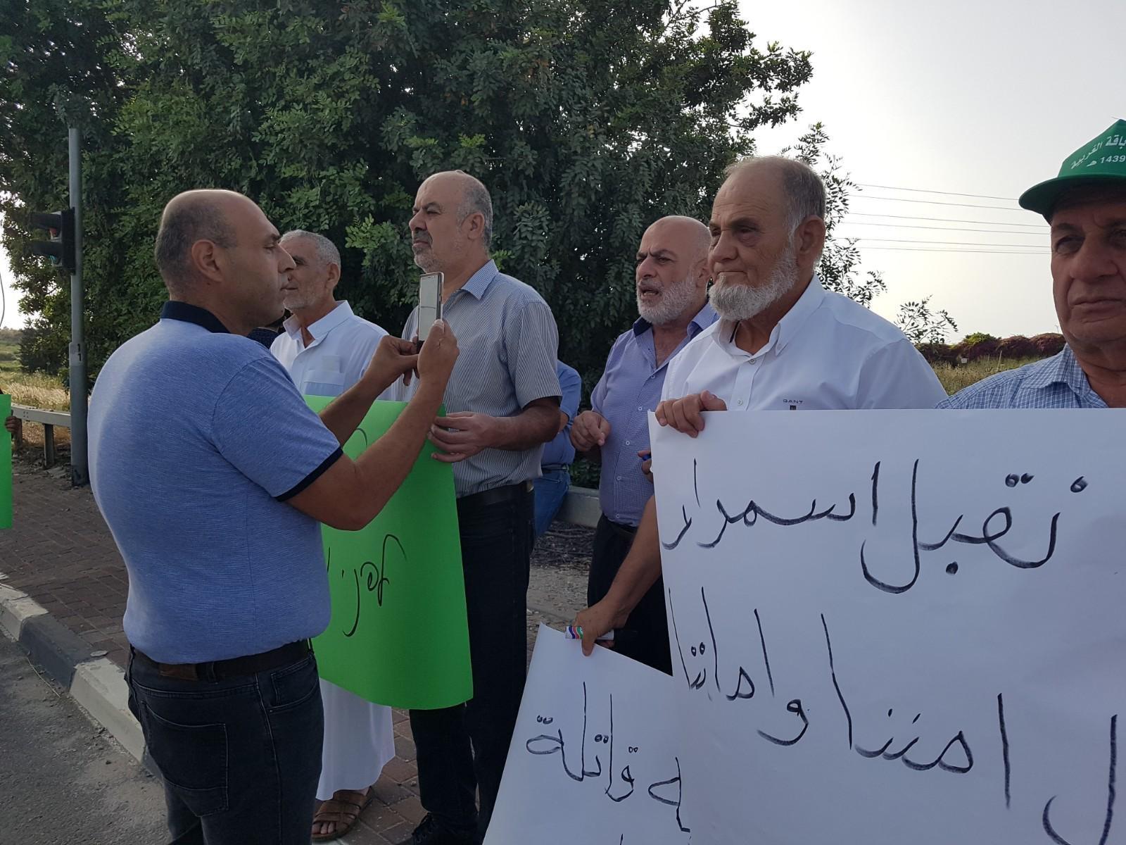 شارع 65: وقفة احتجاجية صاخبة ضد العنف
