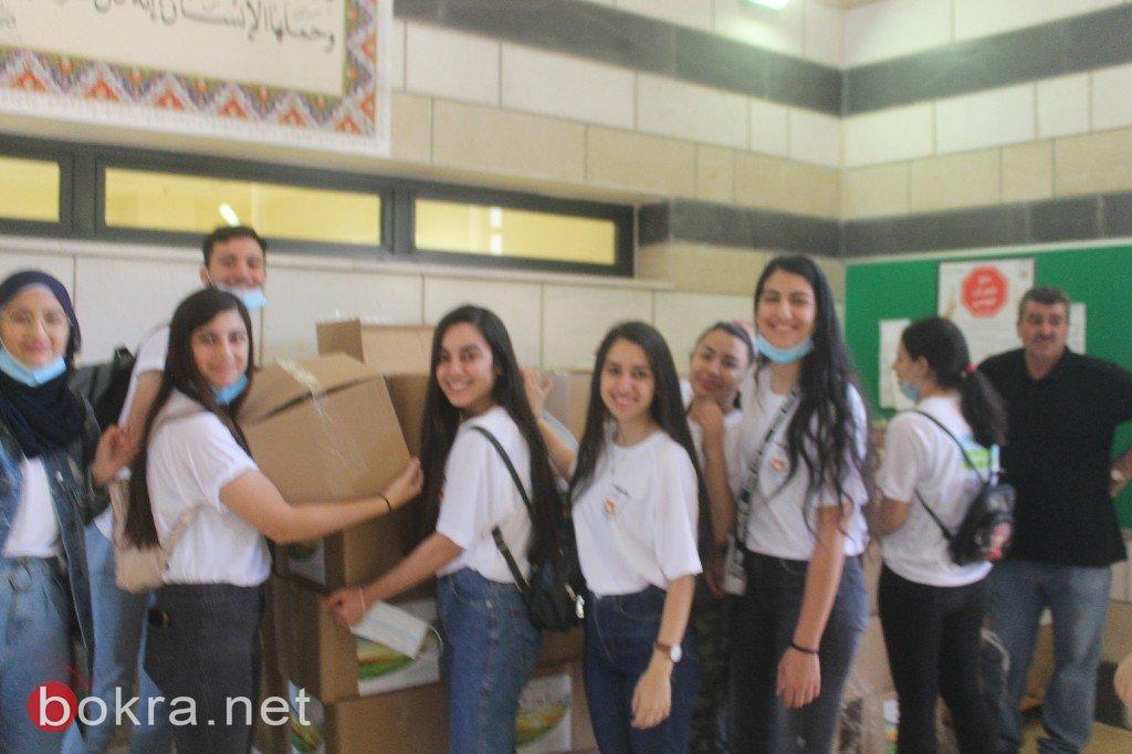 شراكات روتشيليد توسع نشاطها في المجتمع العربي وتوفر الطرود الغذائية للعائلات في عرابة، المغار وقرية ابو تلول في النقب.