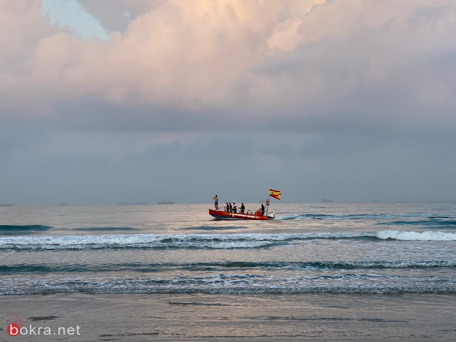 """مصرع سامر مقازحة(46 عامًا) من الناصرة وابنه (10 سنوات) غرقا في شاطئ """"هتمريم""""في عكا-0"""