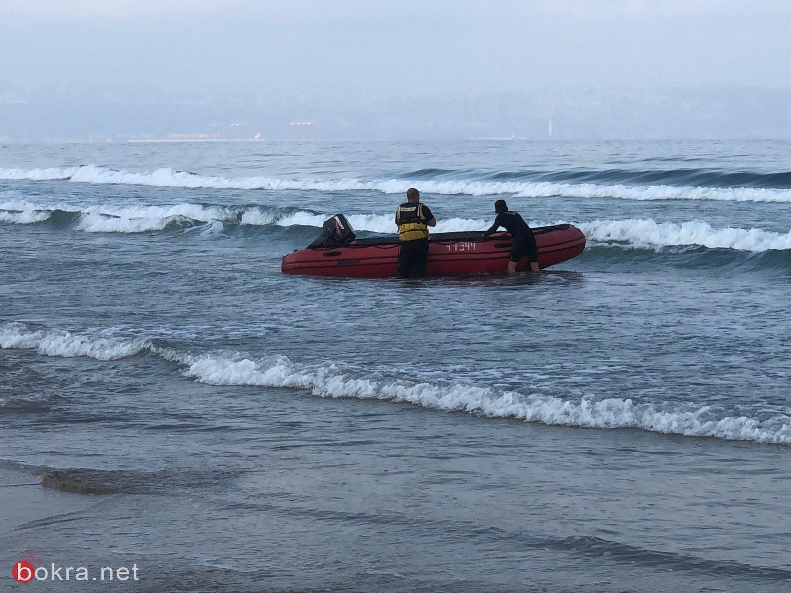 """مصرع سامر مقازحة(46 عامًا) من الناصرة وابنه (10 سنوات) غرقا في شاطئ """"هتمريم""""في عكا-1"""