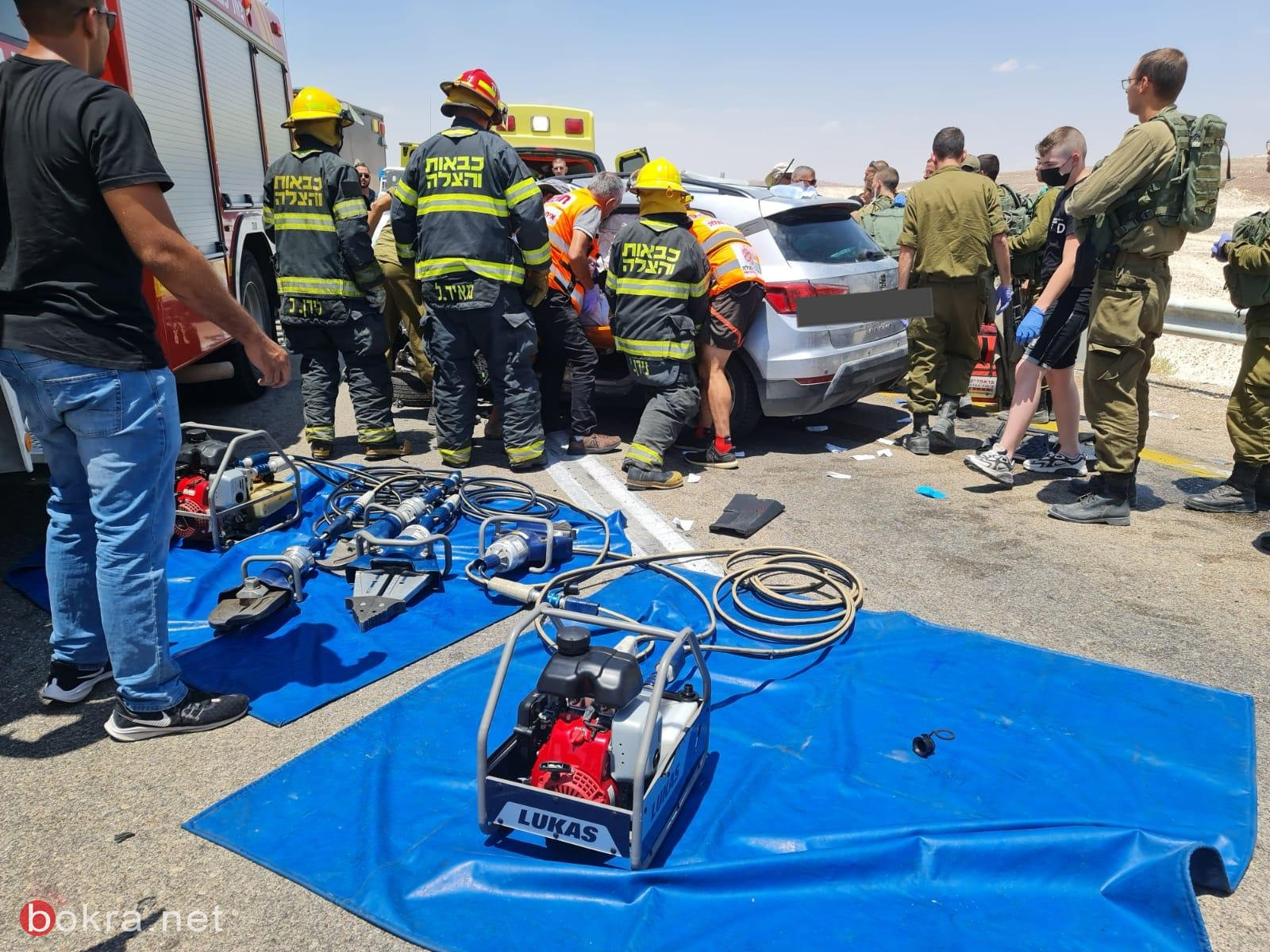 مصرع شخص واصابة 6 اشخاص في حادث طرق في العرابا-0