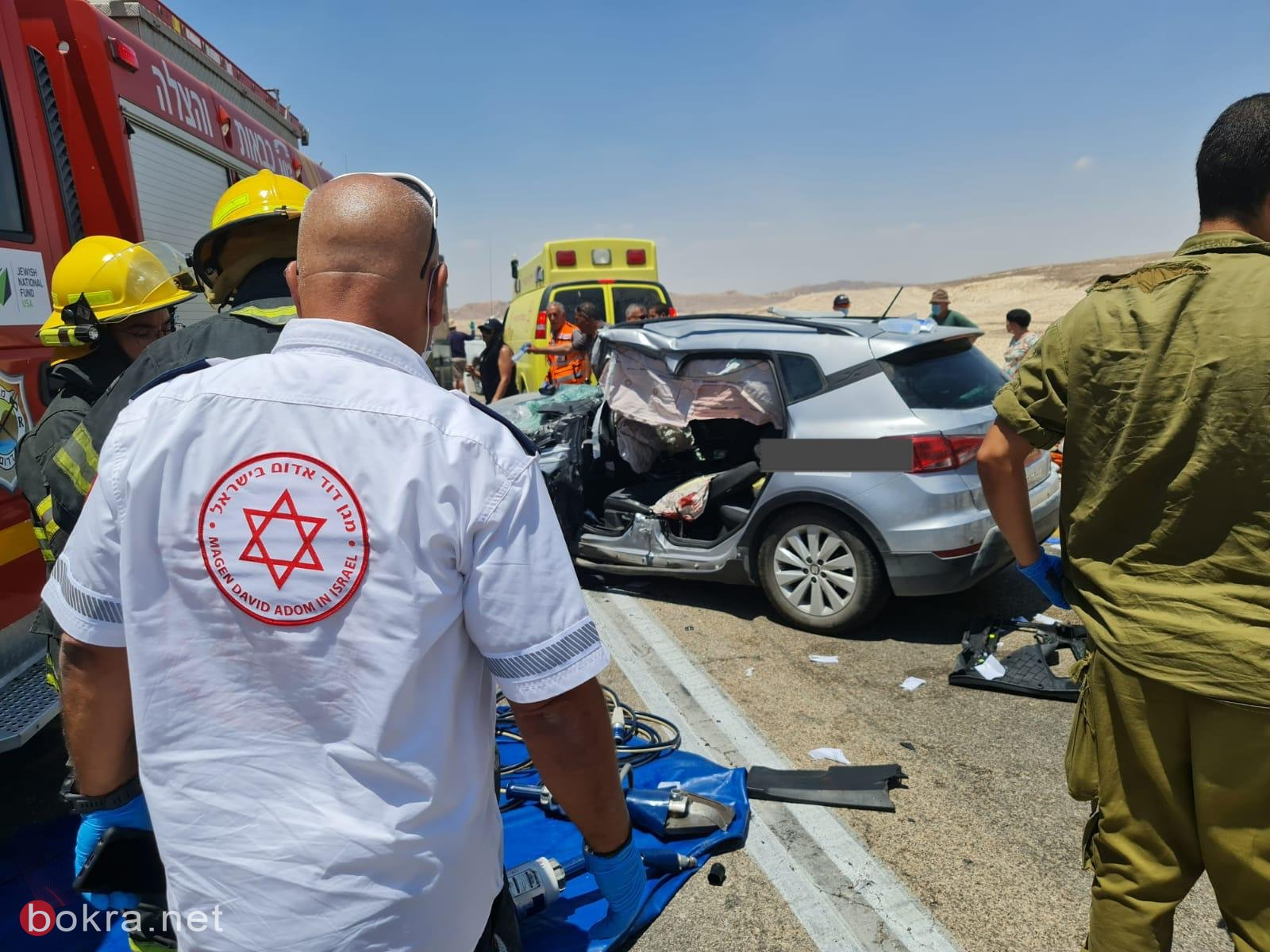 مصرع شخص واصابة 6 اشخاص في حادث طرق في العرابا-3