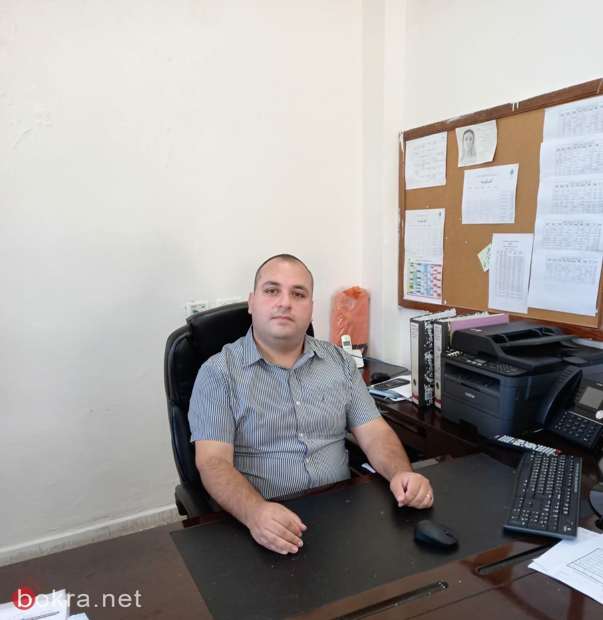ترشيحا: شربل اندراوس (32 سنة) مدير مدرسة مار الياس الأسقفية في حيفا يقودها لإنجاز مُشرف